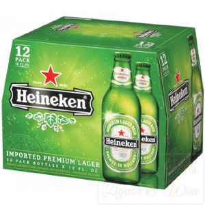 Heineken Light 12oz 6pk Bottles
