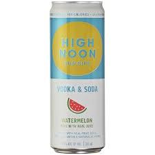 High Noon Waterrmelon Vodka & Soda 337ml Cna