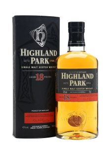 Highland Park 18 Year Single Malt Whiskey 750ml