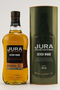 Jura seven Wood Single Malt Whiskey 750ml