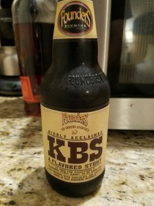 KBS A Flavored Stout 4pk/Singl