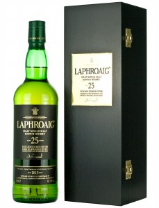 Laphroaig 25 Year Single Malt Whiskey 750ml