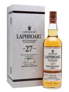 Laphroaig 27 Year Limited Edition Single Malt Whiskey 750ml