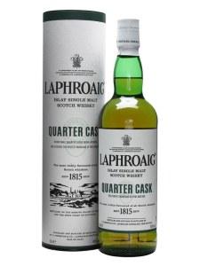 Laphroaig Quarter Cask Single Malt Whiskey 750ml