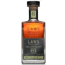 Laws San Luis Valley Rye Bonded Whiskey 750ml