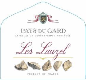 Les Lauzel Pays du Gard Rose 750ml