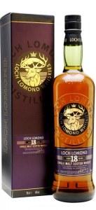 Loch Lomond 18 Year Single Malt Whiskey 750ml