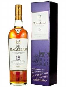 Macallan 18 Year Sherry Oak Single Malt Whiskey 750ml
