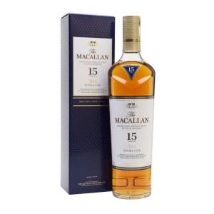 Macallan Double Cask 15 Year Single Malt Whiskey 750ml