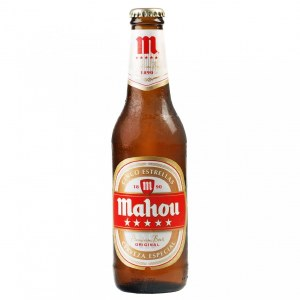 Mahou Estrella Spain 6 Pack Bottles