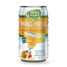 Bud Light Mang-O-Rita 8oz 6pk Or 12pk Cans