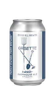 Manor Hill Grisette Farmhouse Ale 12oz 6pk Cans