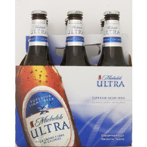 Michelob Ultra 6 Pack Bottles