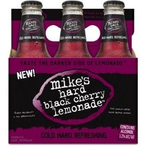 Mikes Hard Black Cherry Lemonade 12oz 6pk Bottles