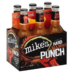 Mikes Hard Mango Punch 12oz 6pk Bottles