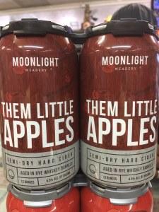 Moonlight Them Little Apples 12oz 4pk Cans