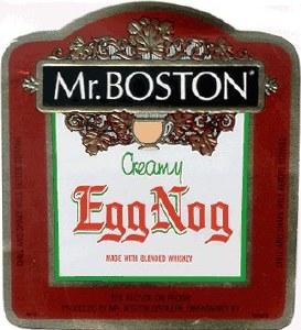 Mr Boston Egg Nog 750ml