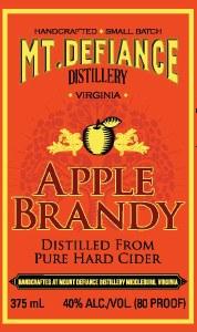 Mt. Defiance Apple Brandy 375ml