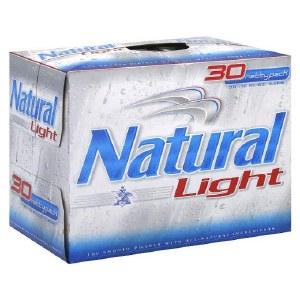 Natural Light 12oz 30pk Cans