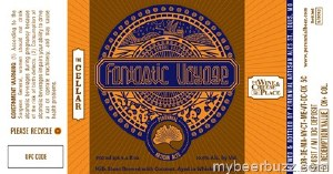 Perennial Fantastic Voyage  Coconut Milk Stout 750ml Bottles