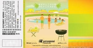 Perennial Suburban Gose 16oz 4pk Cans