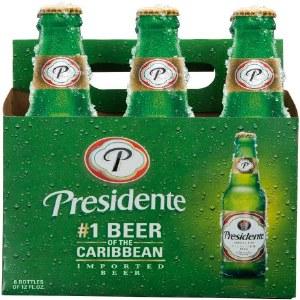 Presidente Pilsner 12oz 6pk Bottles