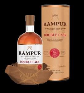 Rampur Double Cask Single Malt Whiskey 750ml