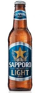 Sapporo Premium Light 6pk12oz Bottles