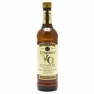 Seagram VO Canadian Blended Scotch Whiskey 750ml