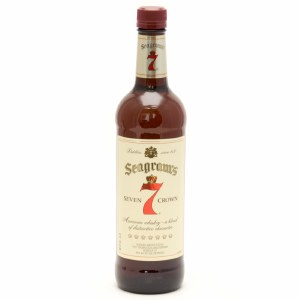 Seagrams 7 Blended Scotch Whiskey 750ml