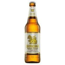 Singha Premium Lager 12oz 6pk Bottles