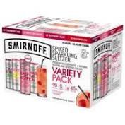 Smirnoff Seltzer RWB 12pk Can