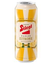 Stiegl Zitrone Radler 4pk 16oz Cans