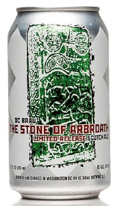 DC Brau Stone Of Arbroath Scotch Ale 12oz 6pk Cans