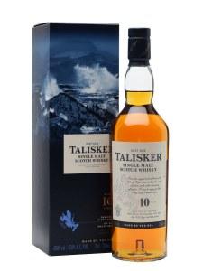 Talisker 10 Year Single Malt Whiskey 750ml