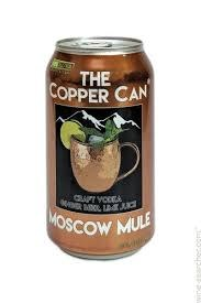 The Copper Can Moscow Mule 12oz 4pk Can