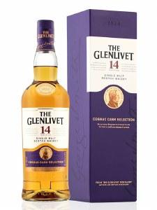 The Glenlivet Cognac Cask Finish 14 Year Single Malt Whiskey 750ml