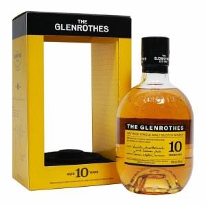 The Glenrothes 10 Year Single Malt Whiskey 750ml