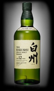 The Hakushu 12 Year Japanese Whiskey 750ml