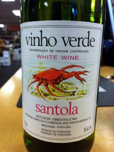 Vinho Verde Santola 750ml