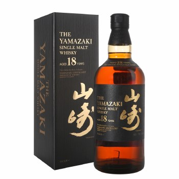 Yamazaki 18 Year Japenese Single Malt Whiskey 750ml
