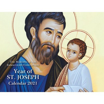 2021 YEAR OF ST JOSEPH WALL CALENDAR
