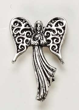 ANGEL ON MY SHOULDER PIN