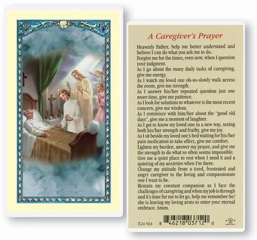 A CAREGIVER'S PRAYER