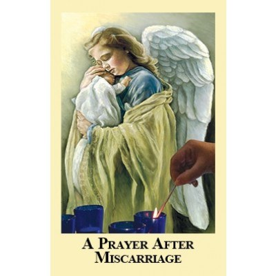 A PRAYER AFTER MISCARRIAGE PAPER PRAYERCARD