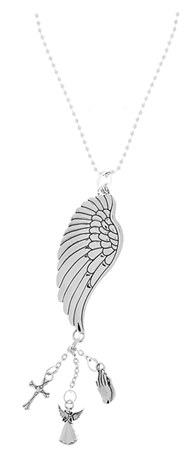 ANGEL WING CAR ORNAMENT