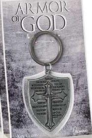ARMOR OF GOD KEY CHAIN