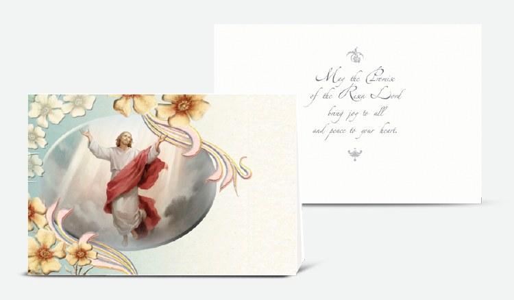 ASCENSION OF JESUS EASTER CARD