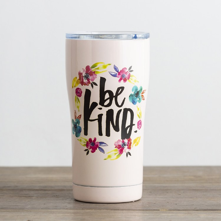 BE KIND - STAINLESS STEEL TUMBLER