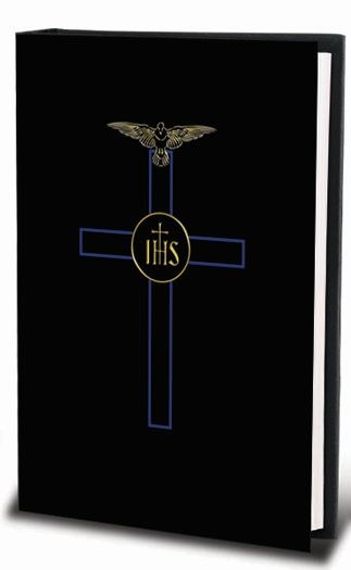 BLESSED TRINITY MISSAL, BLACK COVER